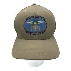 REAGAN LIBRARY AIR FORCE ONE Baseball  Cap Hat